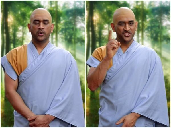 Star Sports releases IPL 2021 ad featuring MS Dhoni in monk avatar - watch video