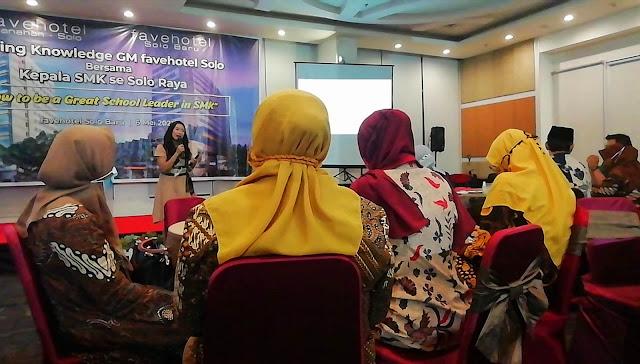 Fenomena Generasi <i>Less of Goal</i>, Dorong Favehotel Solo Adakan <i>Sharing Knowledge</i> Bersama Kepala SMK Se Solo Raya