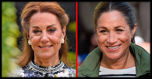 «FaceApp жги»: Как будут выглядеть в старости члены Британской королевской семьи
