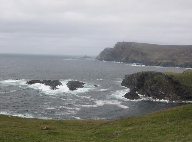 Irish coastline North Atlantic Ocean