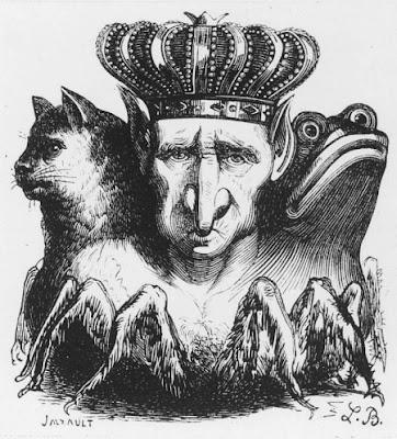 Ilustração de Baal feita por Alesteir Crowley