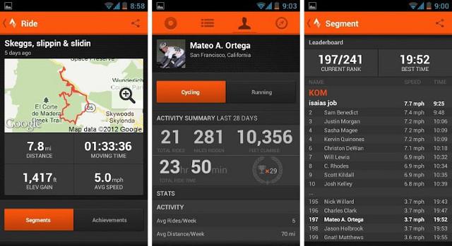 Strave Best App for running
