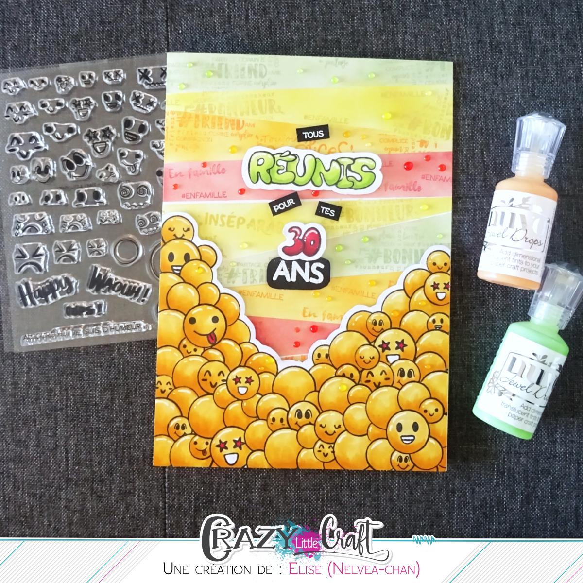 Crazy Little Craft Carte Anniversaire Grand Format Pour Grande Fete