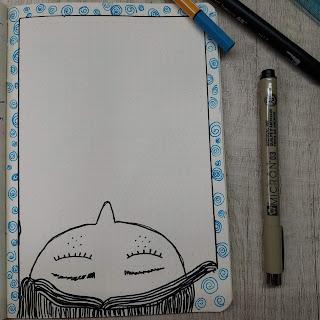 Desenhos de bullet journal