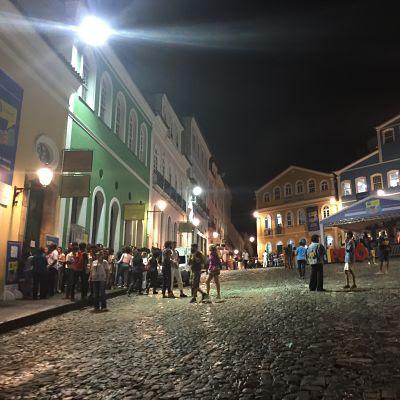 Pelourinho. Salvador de Bahía. Brasil