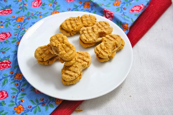 Homemade Healthy Nutter Butter Cookies
