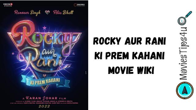 Rocky Aur Rani Ki Prem Kahani Movie Cast Release Date Trailer