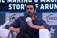 Arjun Rampal with Ajit Andhare At FICCI FRAMES 2017 002.JPG