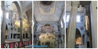 esempio di architettura medievale con rifacimenti barocchi
