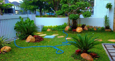 Desain Taman Gaya Modern
