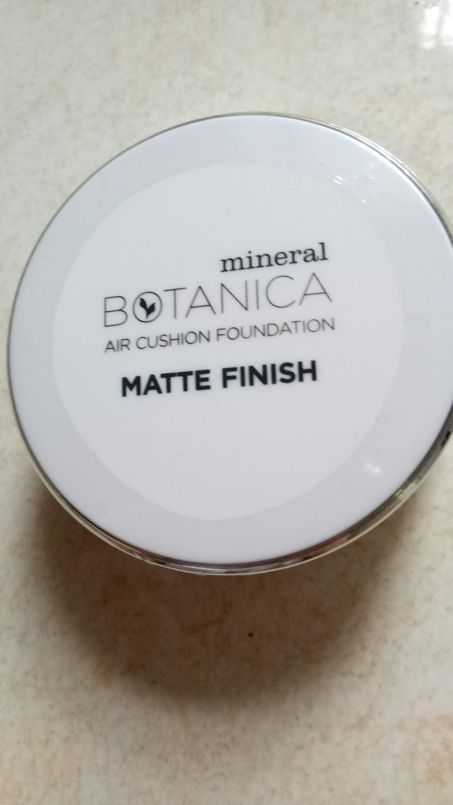 Welcome To My World Review Mineral Botanica Air Cushion Foundation