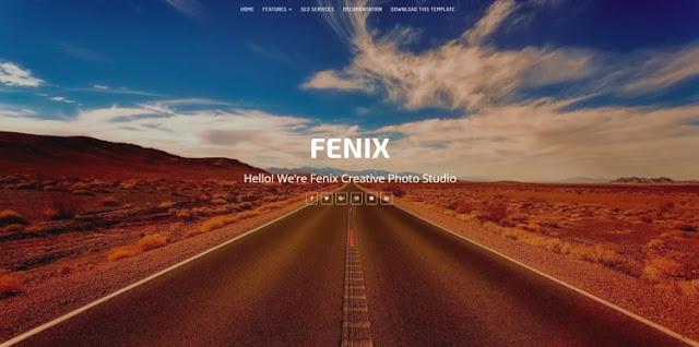 Fenix Portfolio Blogger Template