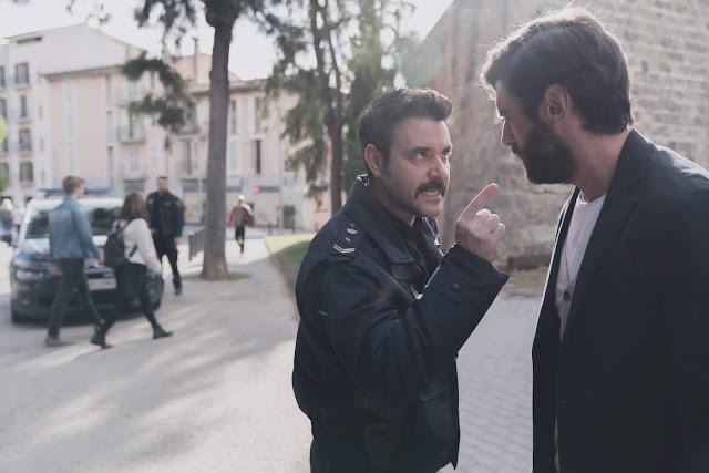 Javier Rey y Miquel Fernandez en 'Mentiras'