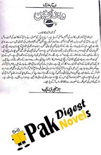 Woh Nazneen Episode 4 By Farah Bukhari Urdu Novel Free Download Pdf