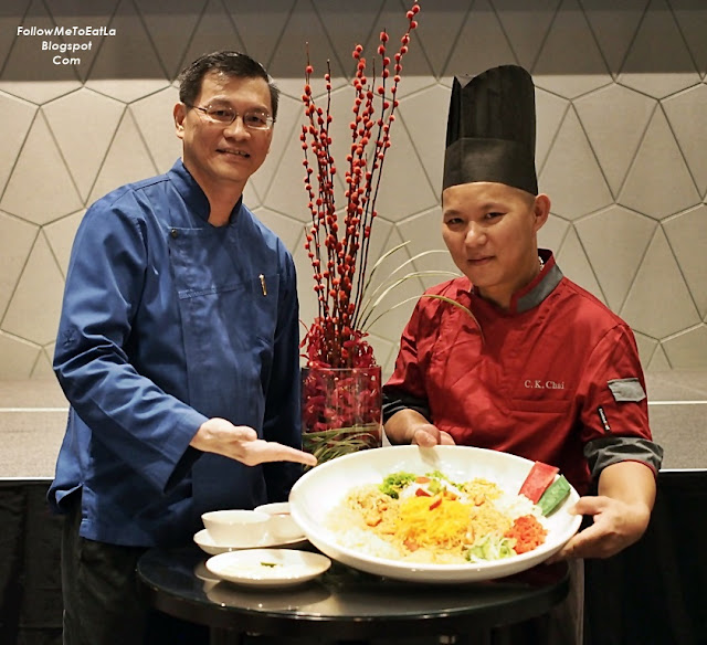 New World Hotel Petaling Jaya Selangor Chef Joshua and Chef Chua