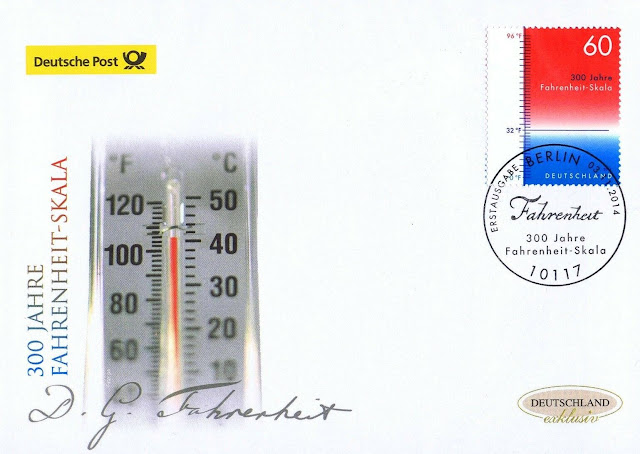Germany Fahrenheit Scale FDC