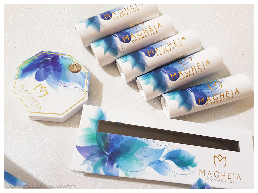 Magheia Cosmetics packaging