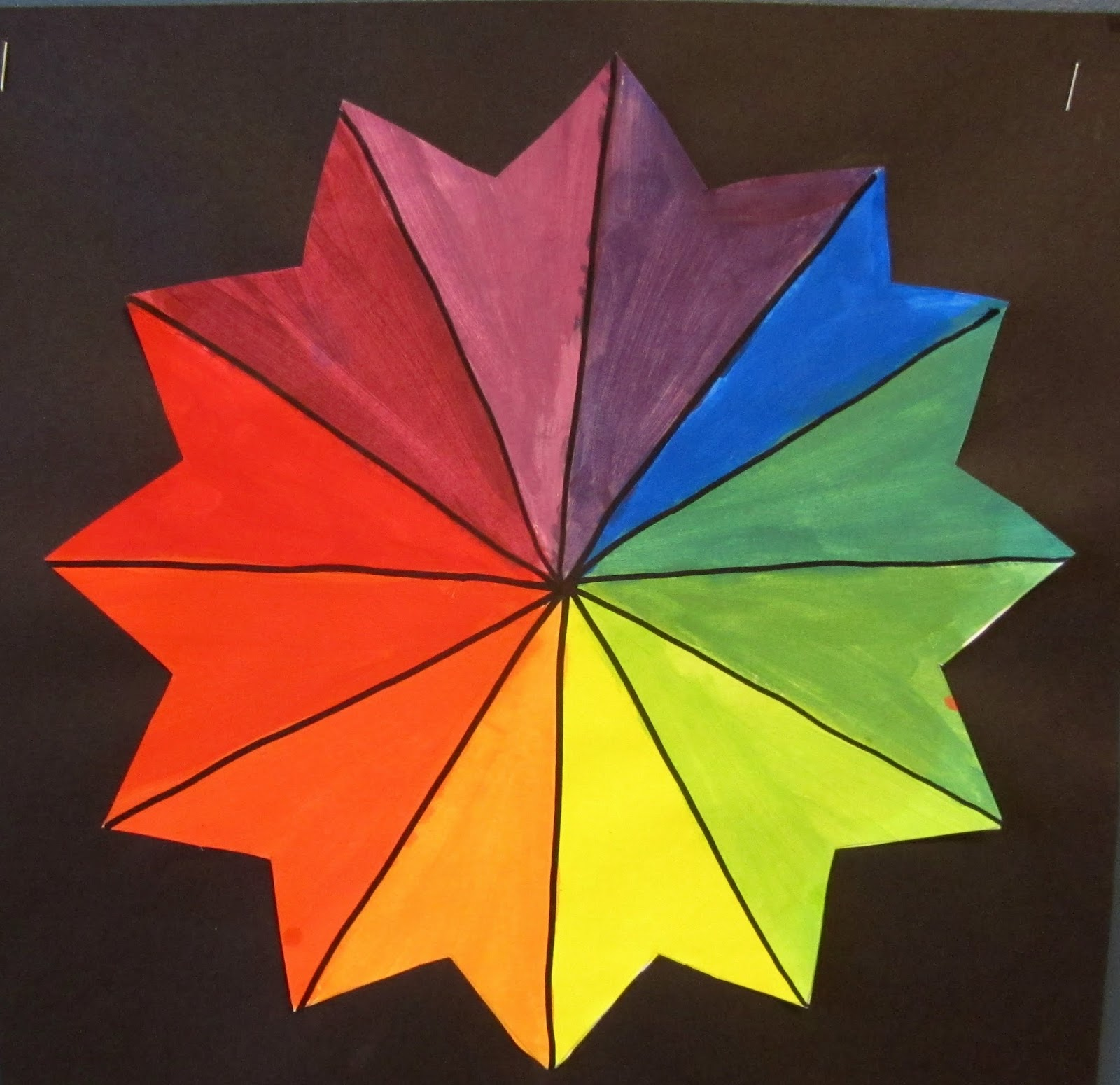 Mrs art teacher classic color wheels - Color wheel for decorating ...