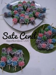 Resep Sate Cenil