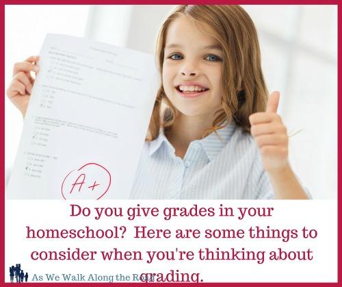 Grading in your homeschool