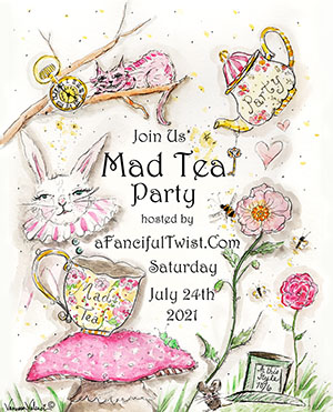 Tenth Annual Mad Tea Party!