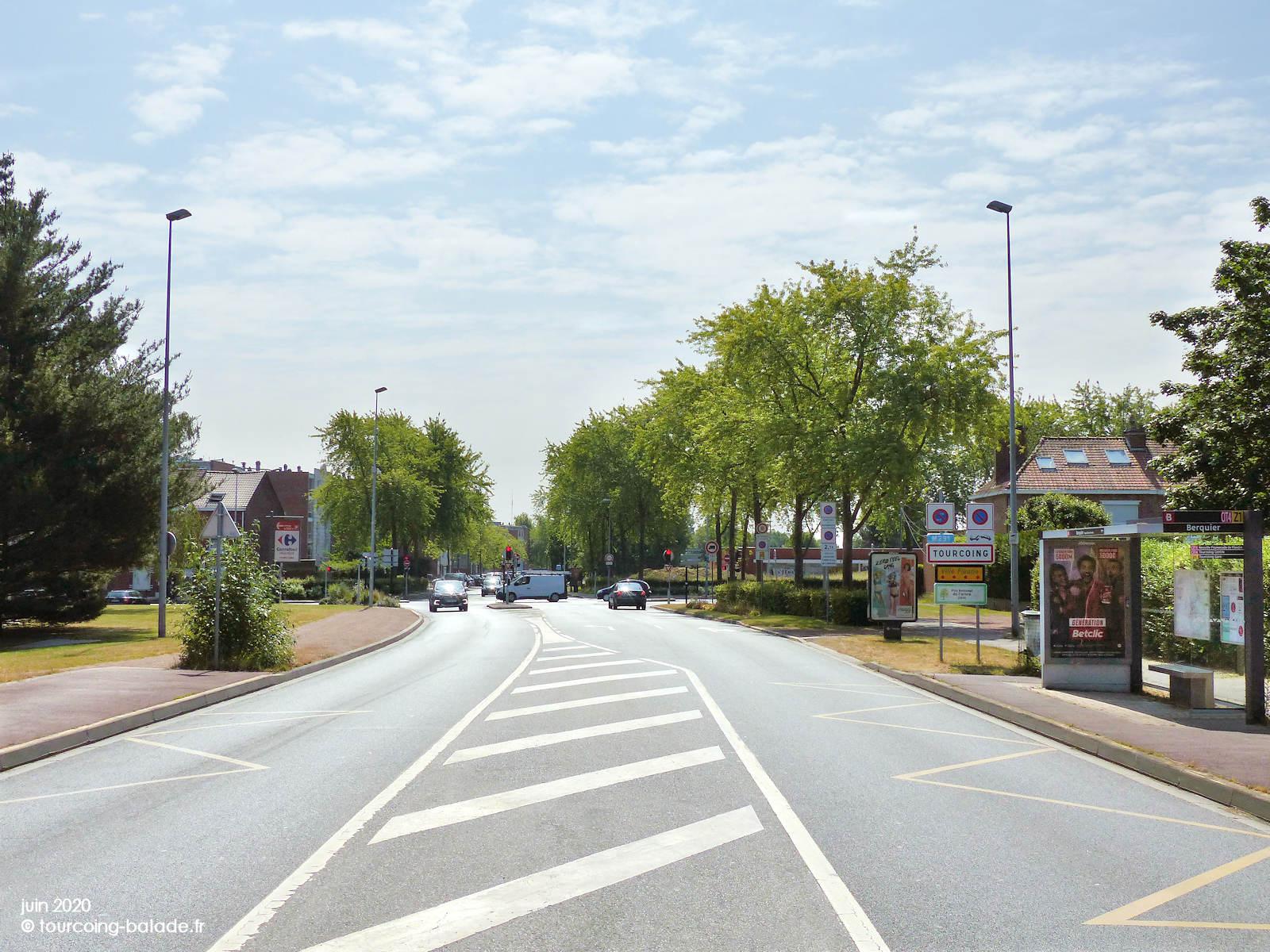 Rue de la Briqueterie, Berquier, Neuville-en-Ferrain Tourcoing, 2020