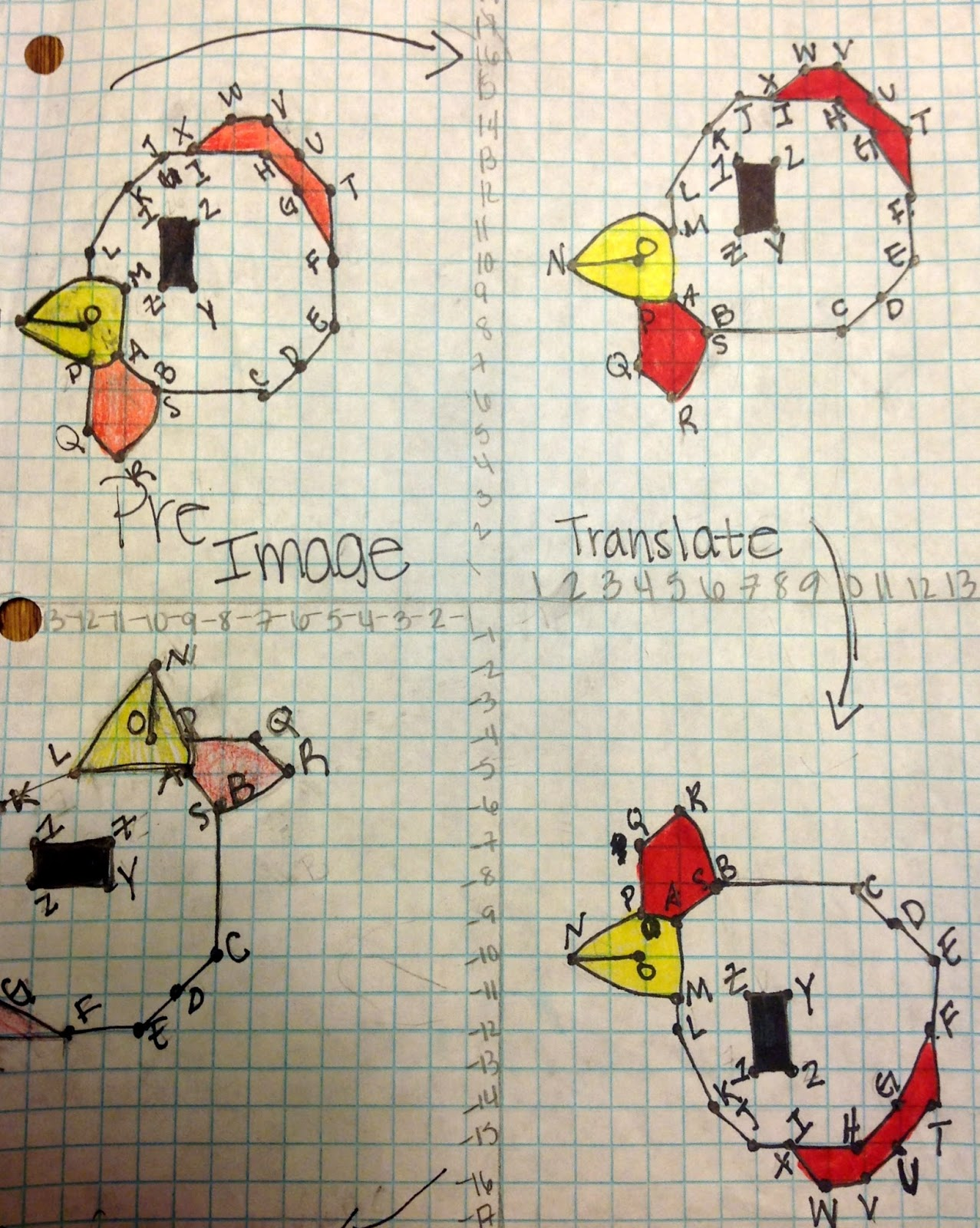 Transformations! My favorite project -- year 2 | math education ...