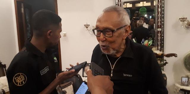 Kumpul Bareng Soenarko-Al Khaththath, Permadi Bicara Pelengseran Jokowi