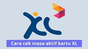 Cara Cek Masa Aktif Kartu XL