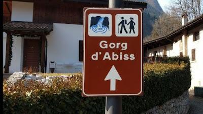 Cascata del Gorg D'Abiss - Trento - cascate in Italia - gite e vacanze in Trentino