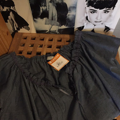 chambray blouse