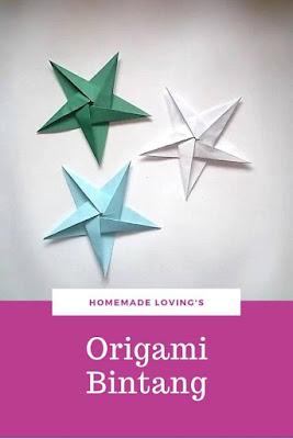 cara membuat bintang laut dari kertas origami