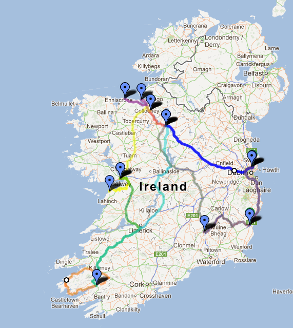 ... Day to be Alive: This is what 1,295 miles around Ireland looks like