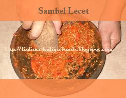 Rasa gurihnya masakan akan semakin lengkap dengan hadirnya rasa pedas Resep Sambal Lecet Mak Nyosss!