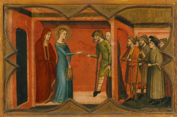Святая Люсия перед Пасхалием