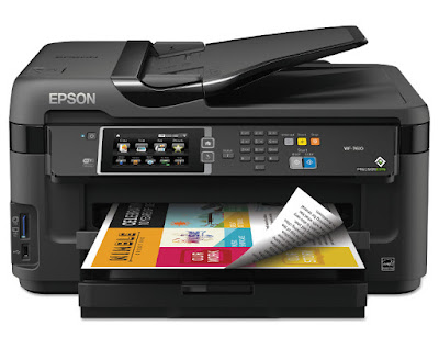 W texts are printed reliably too inwards high lineament past times the Epson Epson WorkForce WF-2660 Driver Download