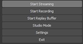 Pilih Start Streaming