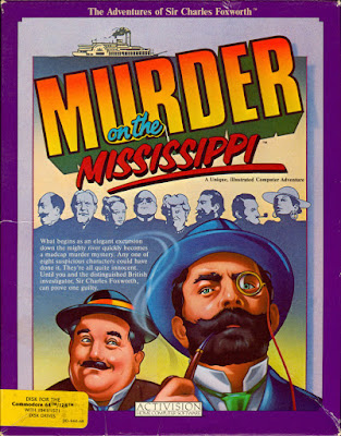 Portada videojuego Murder on the Mississippi
