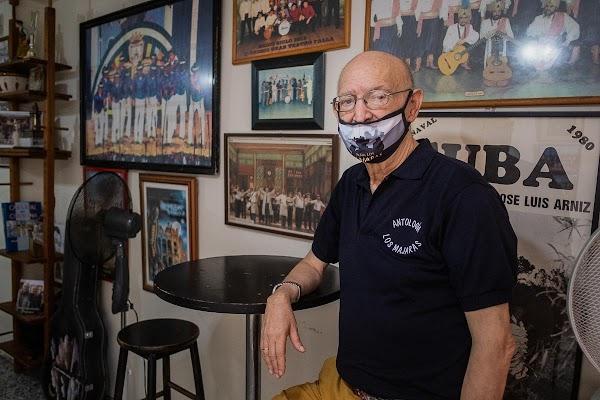 """Pedro 'el de Los Majaras': """"Franco no fue capaz de quitar el Carnaval, ahora a Cádiz se le ocurrirá algo"""""""