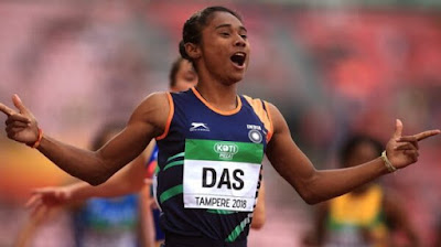9 Interesting Facts About Hima Das Who Won 4 Gold Medals In Just 15 Days