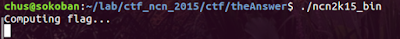 NcN 2015 CTF – theAnswer writeup