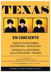 TEXAS CONCERTS @ SPAIN
