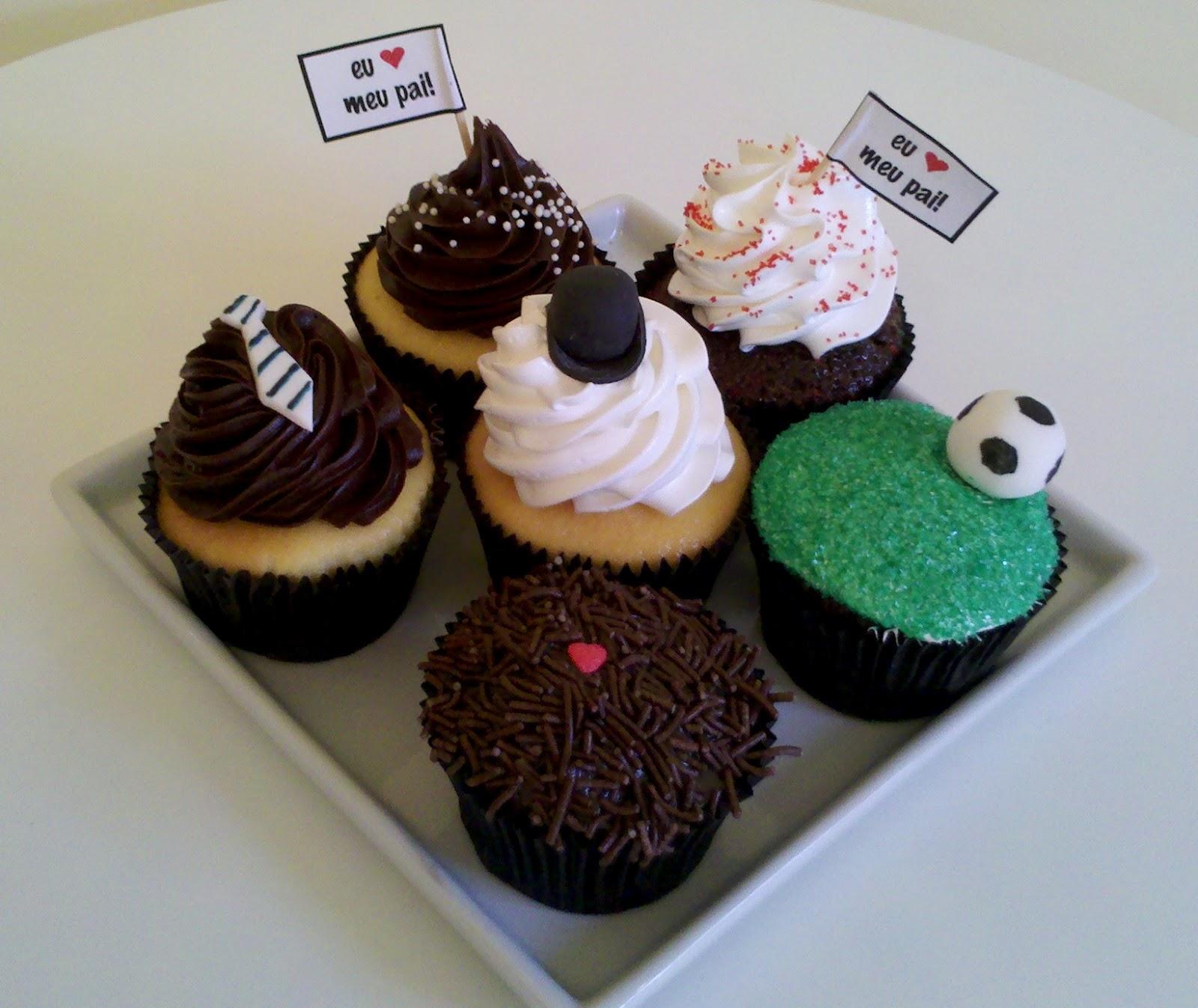 Resultado de imagem para cupcake dia dos pais