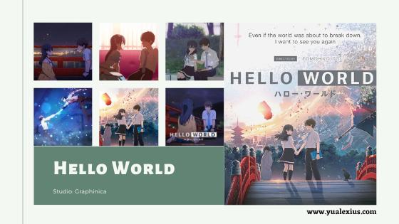 Hello World Anime Movie 2019