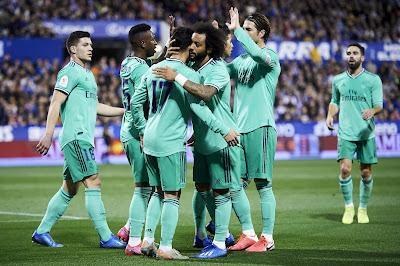 ريال مدريد على بعد خطوة من التتويج بالدوري الاسباني بعد مواجهة الخميس