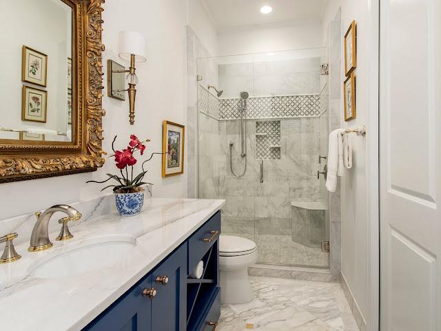 design ideas for guest bathroom