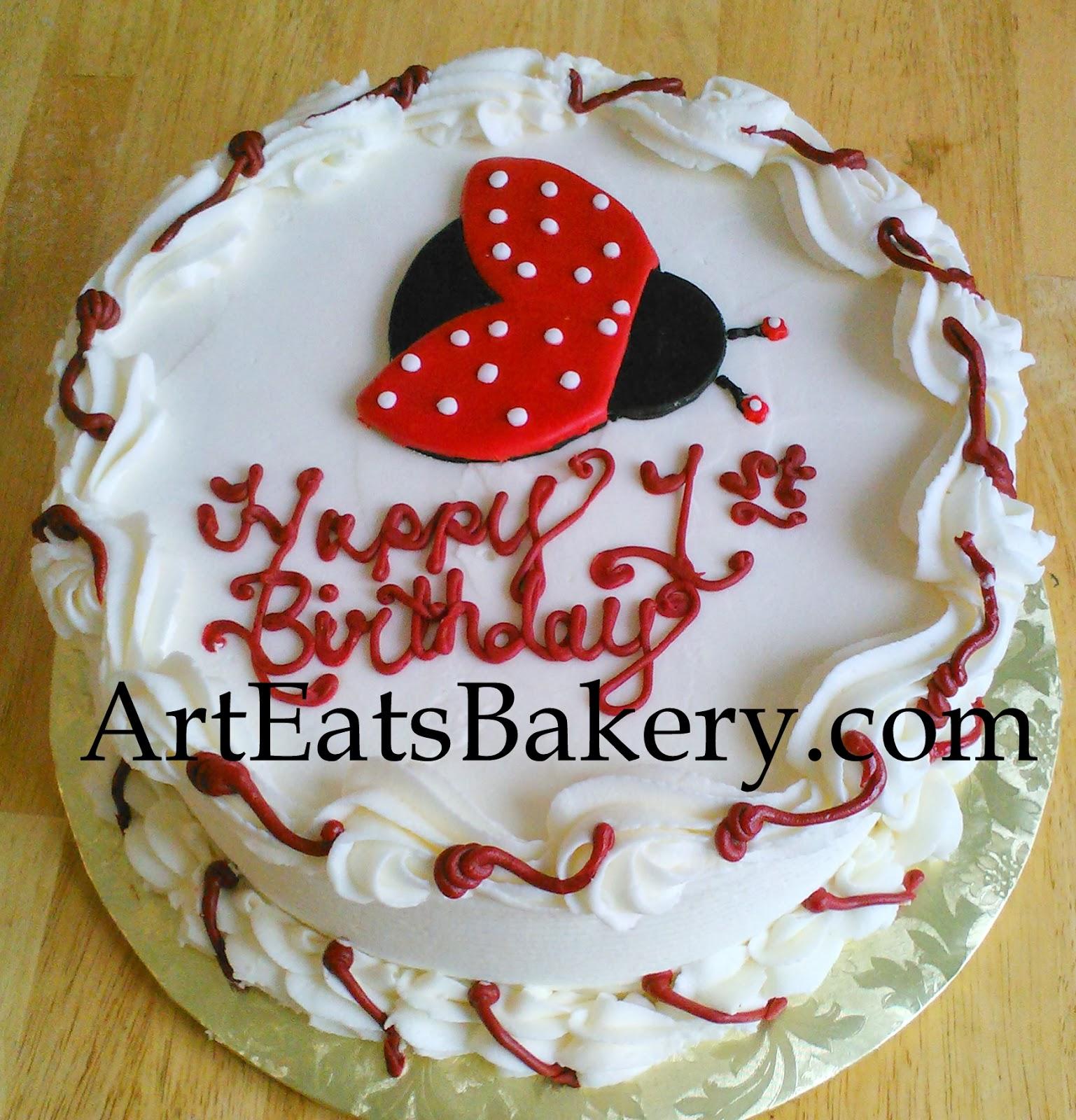 Red And Black Wedding Cakes Ideas: Art Eats Bakery Custom Fondant Wedding And Birthday Cake
