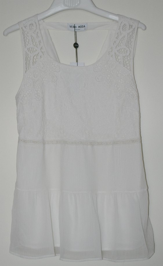 White top from Vero Moda
