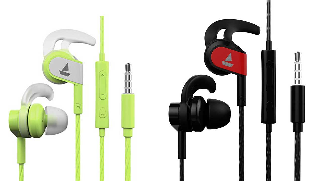 boAt Baseheads 242 Wired Sports Earphones
