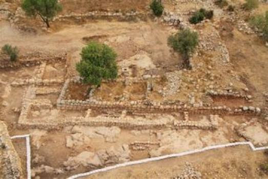 King David's Palace Discovered South of Jerusalem